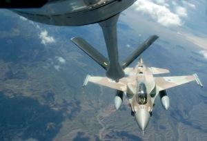 Israeli F-16 Over Nevada