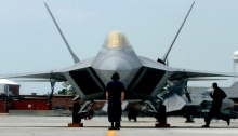F-22A Raptor Demonstration Team Prepares for Launch (USAF Photo, SrA Christopher L. Ingersoll)