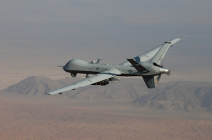 MQ-9 Reaper:  Solidifying a Fluid Space?(USAF Photo, LtCol Leslie Pratt)