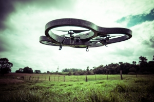 Drone Over Farm (Photo by Lima Pix, Some Rights Reserved)