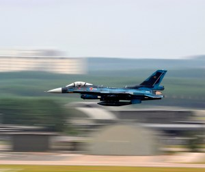 JASDF F-2 at Misawa Air Base(USAF Photo, SSgt Chad Strohmeyer)