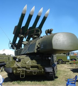Buk-M1-2 (SA-11b) at MAKS 2005