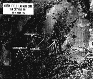 U-2 Image of MRBM Launch Site in Cuba During Cuban Missile Crisis