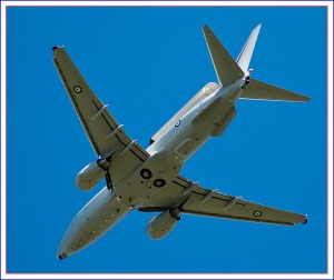 RAAF E-7A Wedetail Airborne Warning & Control System(Photo by Crouchy69, Creative Commons License)