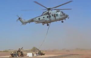 EC725 Caracal Supporting Operation Barkhane(Armée de Terre Photo)