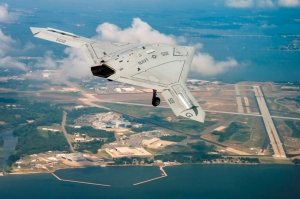 US Navy X-47B UCLASS Over Patuxent River, Maryland(US Navy Photo, Liz Wolter)