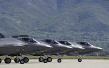 F-35s at Hill AFB in Utah(USAF Photo, Paul Holcomb)